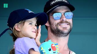 Chris Hemsworth's Kids 'Unimpressed' With His Superhero Antics