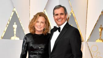 HOLLYWOOD, CA - FEBRUARY 26:  Producer Peter Chernin (R) and Megan Chernin attend the 89th Annual Academy Awards at Hollywood & Highland Center on February 26, 2017 in Hollywood, California.  (Photo by Steve Granitz/WireImage)