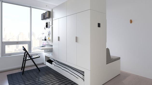 IKEA'S Robotic Furniture Doubles Living Space With The Push Of A