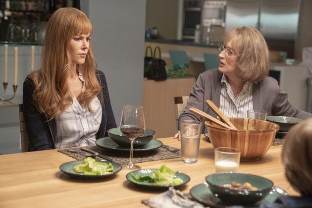 Celeste (Nicole Kidman) e sua sogra Mary Louise (Meryl