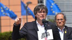 Puigdemont logra entrar al Parlamento