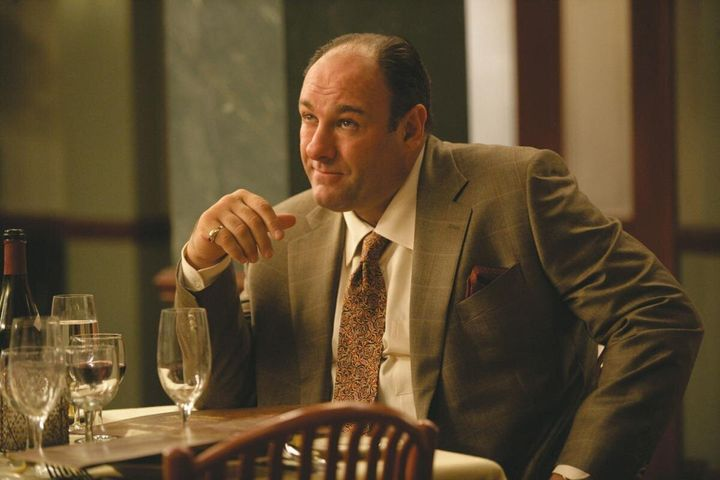 """""""The Sopranos"""" on HBO."""