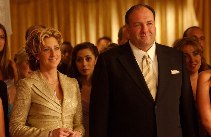 """The Sopranos"" on HBO."