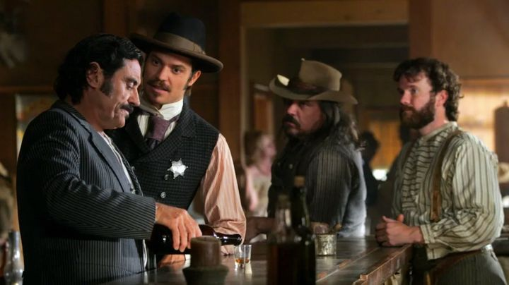 """Deadwood"" on HBO."