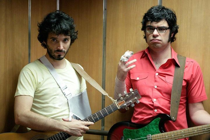 """Flight of the Conchords"" on HBO."