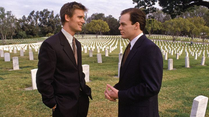 """Six Feet Under"" on HBO."