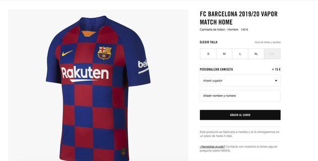 a311542b30b La nueva camiseta del Barcelona cabrea en redes por partida doble: ojo al