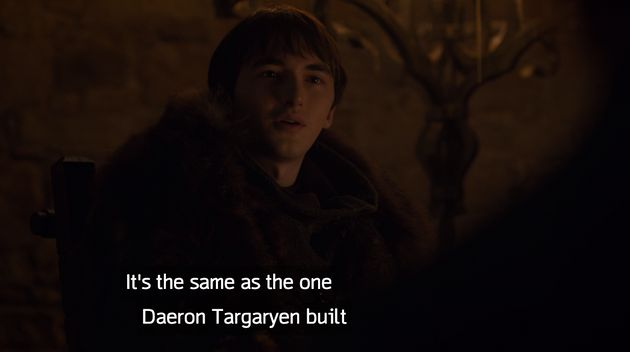 Bran wasting a lot of time in Season