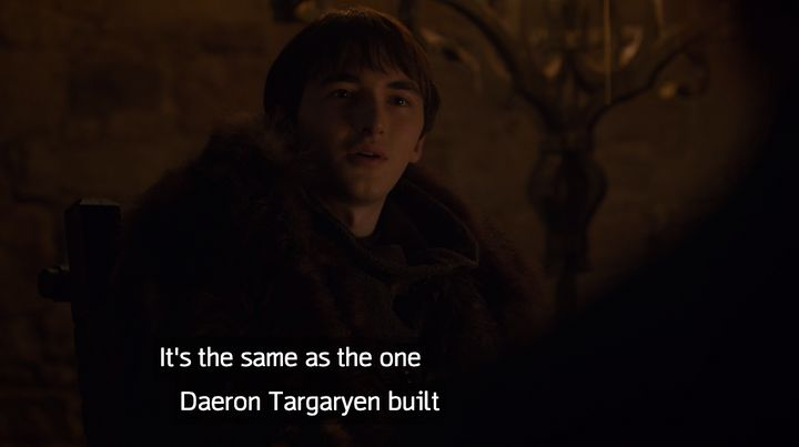 Bran wasting a lot of time in Season 8.