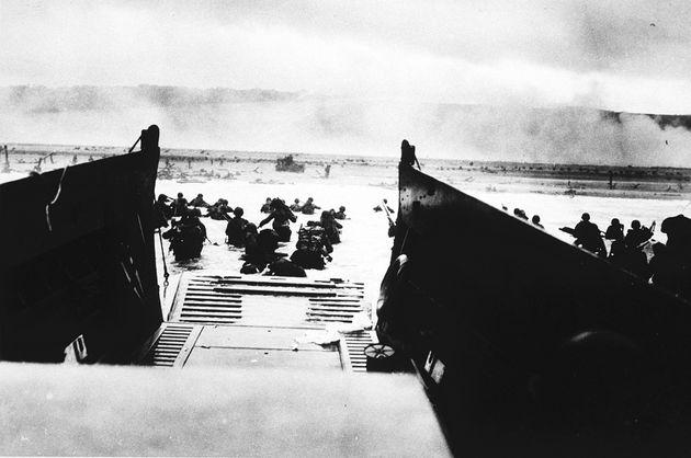 Llegada de soldados norteamericanos a