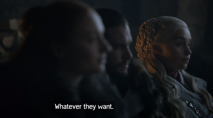 Dany with the clapback.
