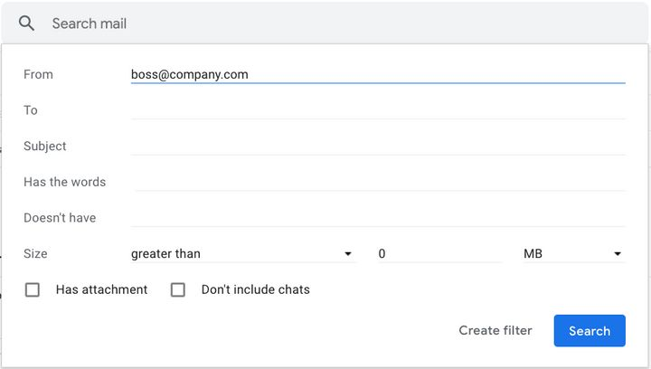 You can pick email addresses to personally direct on Gmail.