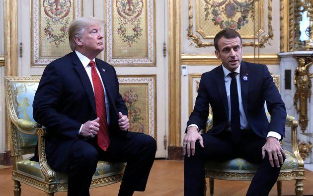 Face à Macron, Trump a-t-il ruiné les relations