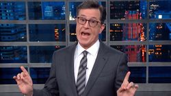 Colbert Coins A New Term To Mock Trump's Claim He Didn't See Any UK