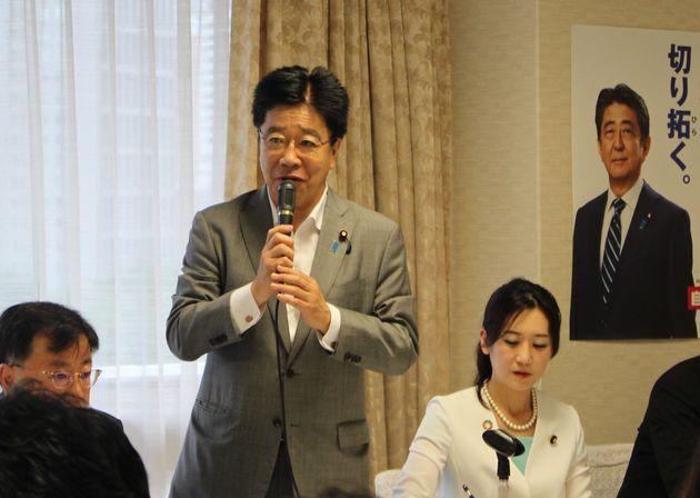 加藤勝信・自民党総務会長