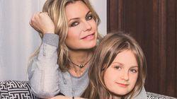 Caroline Néron et sa fille bien occupées sur les plateaux de