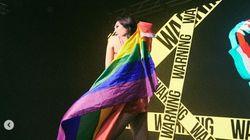 선미가 LGBT를 공개적으로