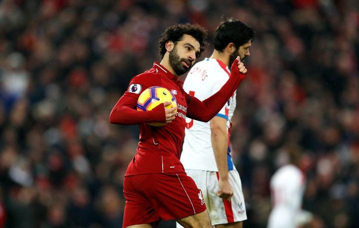 Mo Salah joined Liverpool in June 2017.