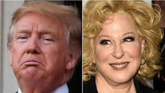 Donald Trump, Bette Midler