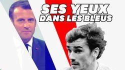 Macron rend hommage aux Bleus... et à