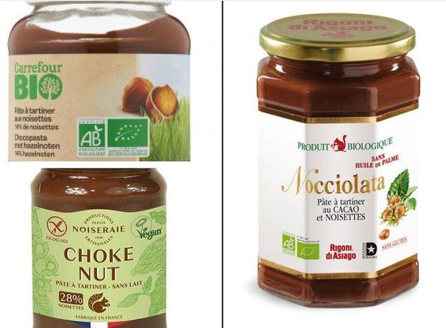 """Les pâtes à tartiner bio, une mauvaise alternative selon """"60 Millions de consommateurs"""""""