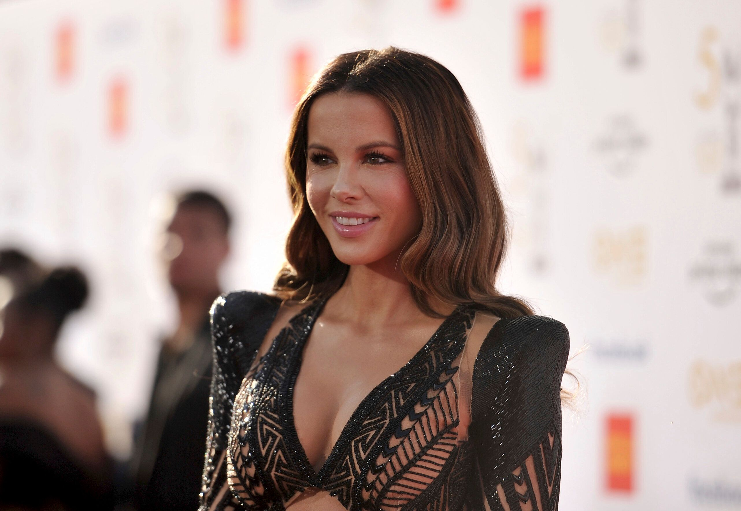 Kate Beckinsale arrives at the 50th annual NAACP Image Awards on Saturday, March 30, 2019, at the Dolby Theatre in Los Angeles. (Photo by Richard Shotwell/Invision/AP)
