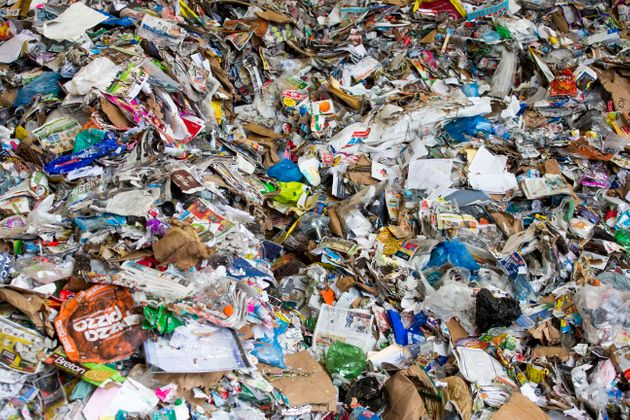 A facility that deals with recycling in Ontario is seen here in this photograph. A new report says 12...
