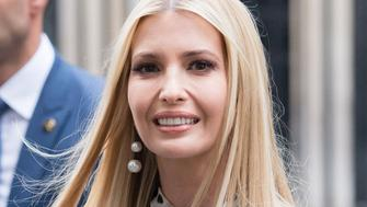 LONDON, ENGLAND - JUNE 04:  Ivanka Trump visits Number 10 Downing Street during the second day of his state visit on June 04, 2019 in London, England. (Photo by Samir Hussein/WireImage)