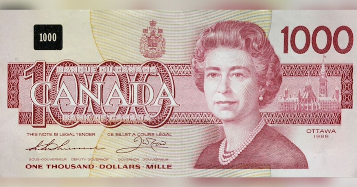Bank Of Canada Pulling Older Notes