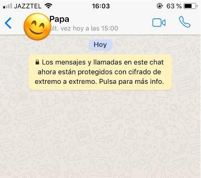 Recibe de su padre un WhatsApp que ya es historia: tiene miles de compartidos al