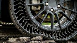 Michelin réinvente la roue avec ce pneu sans air