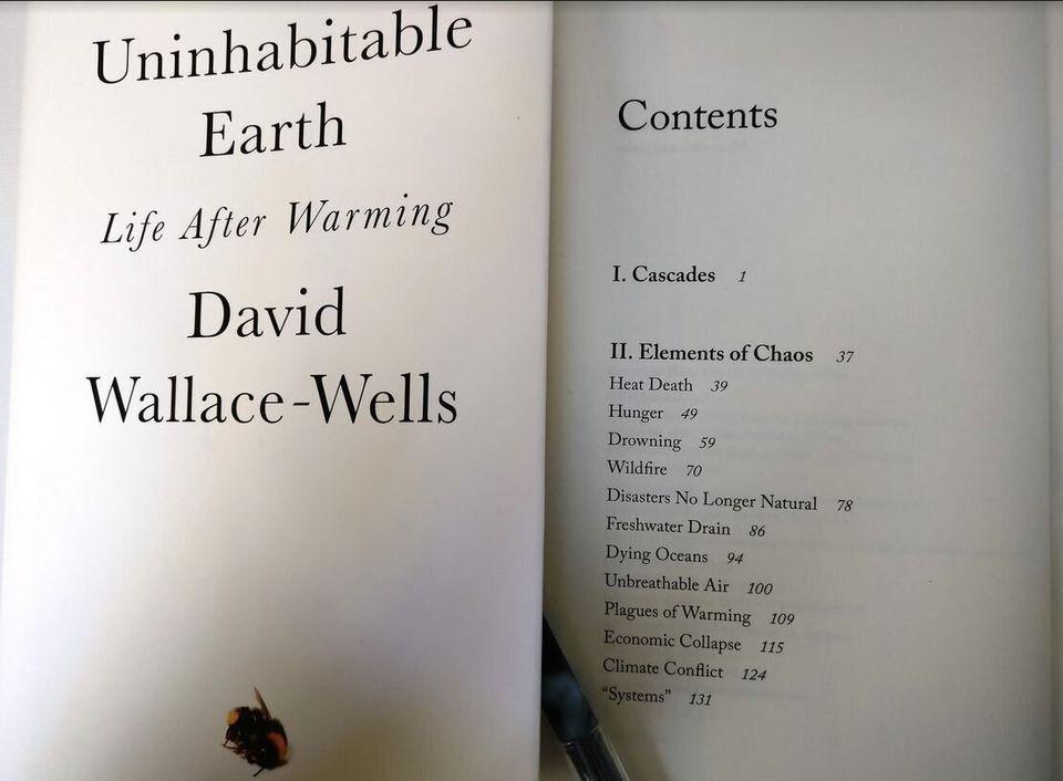 «Ακατοίκητη Γη»: Ένα βιβλίο - μανιφέστο για τους κινδύνους της κλιματικής
