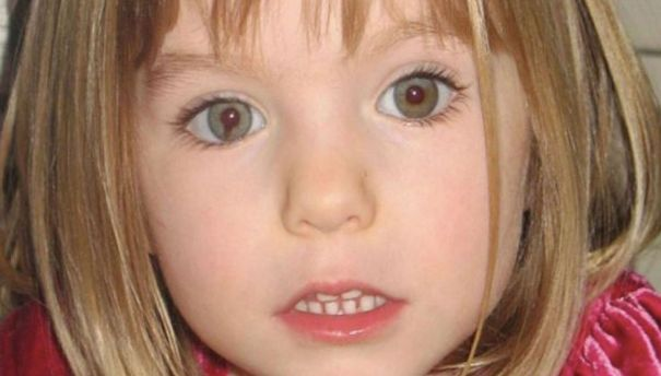 Maddie McCann went missing in 2007, (skynews)