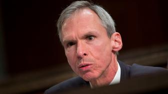 FILE - In this April 14, 2016 file photo Rep. Dan Lipinski, D-Ill. speaks on Capitol Hill in Washington. (AP Photo/Pablo Martinez Monsivais File)