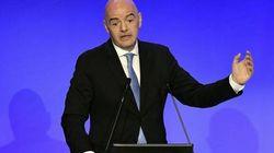 Gianni Infantino, réelu président de la FIFA, se prononce sur le match Wydad-Espérance de