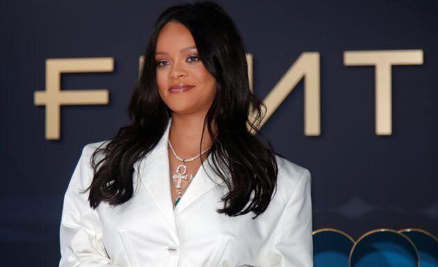 Rihanna, ici le 22 mai à Paris lors de la présentation de sa collection avec