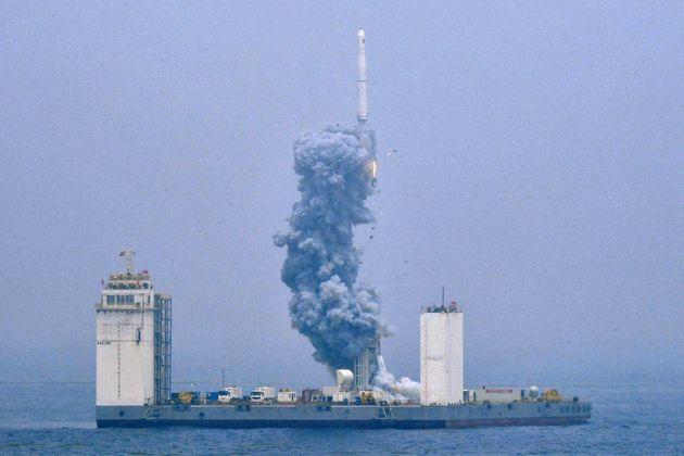 L'utilisation d'un tir flottant permet, entre autres, de réaliser le lancement loins des terres...