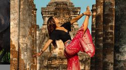 Canadian Yoga Instructor Criticized For Posing At Sacred Thai