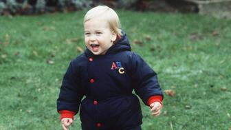 LONDON, UNITED KINGDOM - DECEMBER 14:  Prince William At Kensington Palace Age Approx 18 Months  (Photo by Tim Graham/Getty Images)