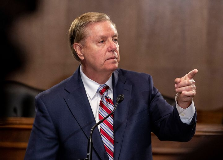 Sen. Lindsey Graham, a close ally of the president, said Wednesday it was time to rein in the Trump administration&rsquo