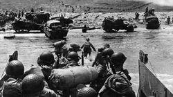 El desembarco de Normandía, en