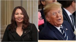 Senator Tammy Duckworth Says Trump Has A 'Yellow Streak Down His