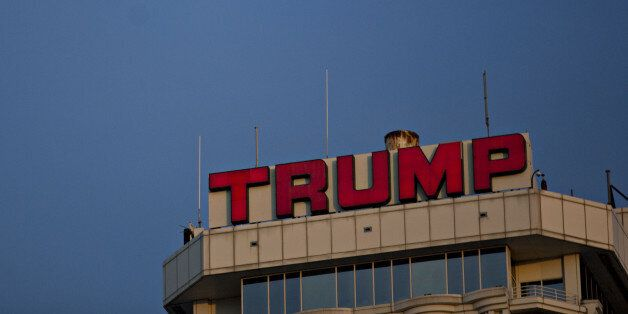 The Trump Taj Mahal casino and hotel, owned by Trump Entertainment Resorts Inc., stands in Atlantic City, New Jersey, U.S., o
