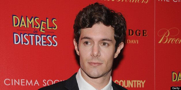 NEW YORK, NY - APRIL 02:  Adam Brody attends the Cinema Society with Town & Country and Brooks Brothers screening of 'Damsels
