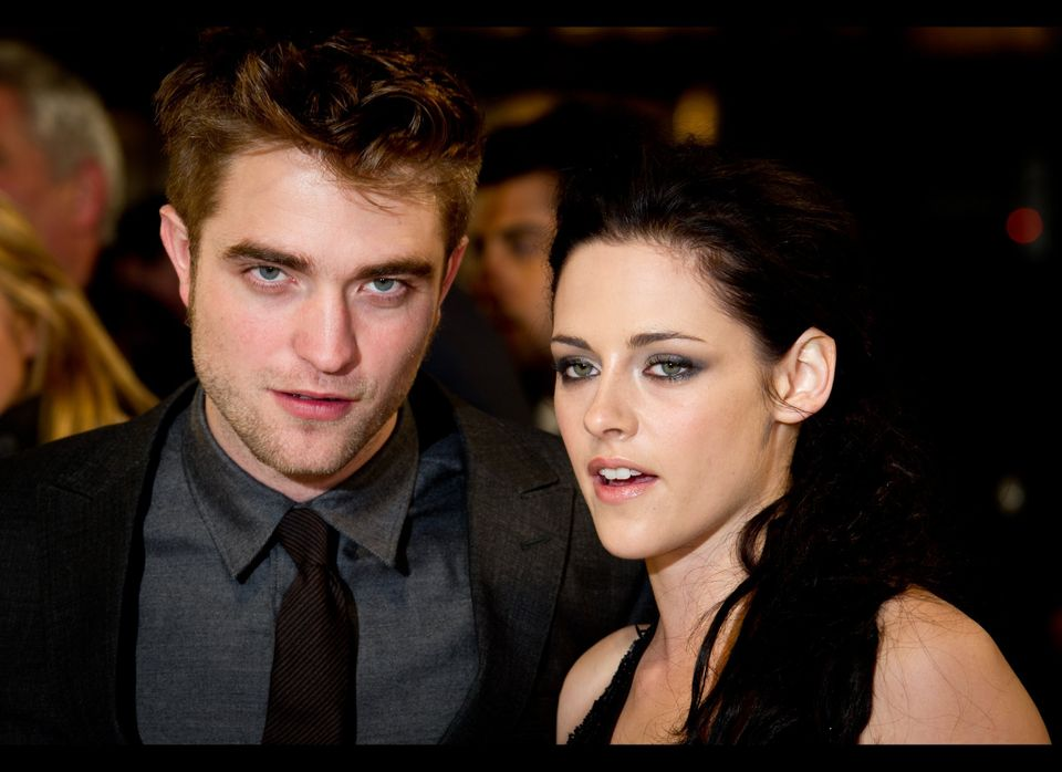 """The """"Twilight"""" stars play lead roles in """"Cosmopolis"""" and """"On the Road,"""" respectively. (Photo by Ian Gavan/Getty Images)"""