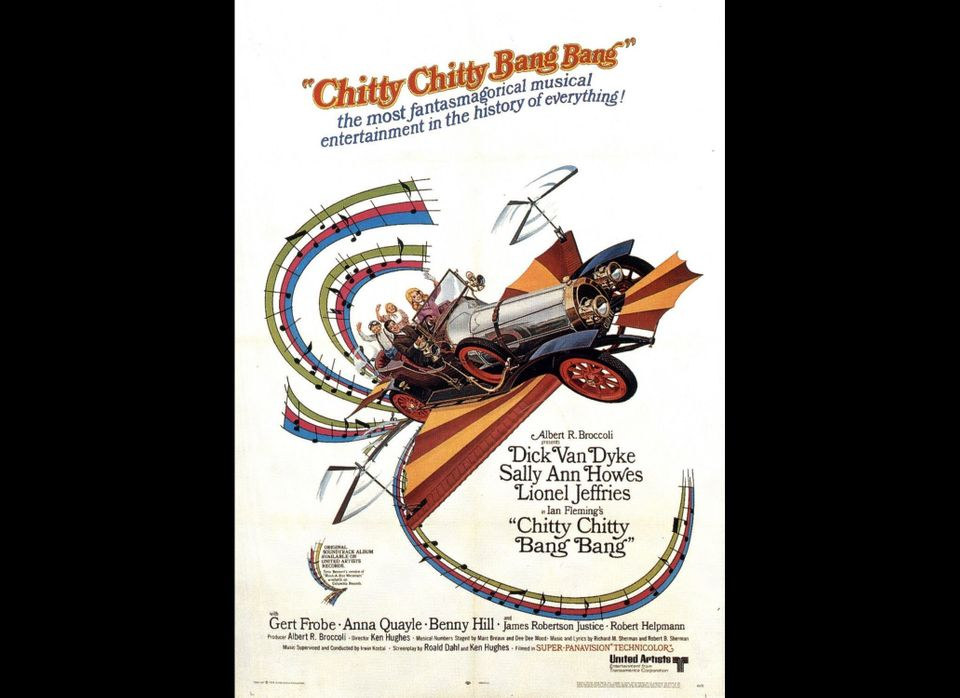 """The famous flying car driven by Caractacus Potts (Dick Van Dyke) <a href=""""http://www.insideline.com/ford/chitty-chitty-bang-b"""