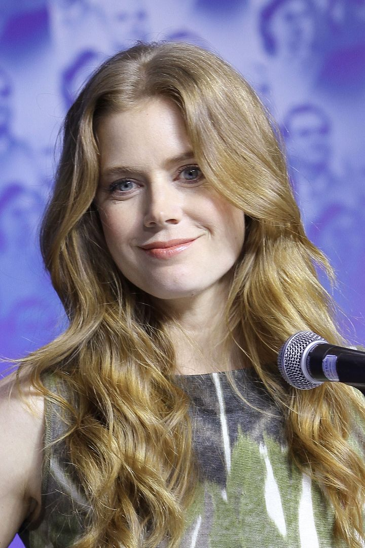 TORONTO, ON - SEPTEMBER 08:  Actress Amy Adams speaks at 'The Master' Press Conference during the 2012 Toronto International