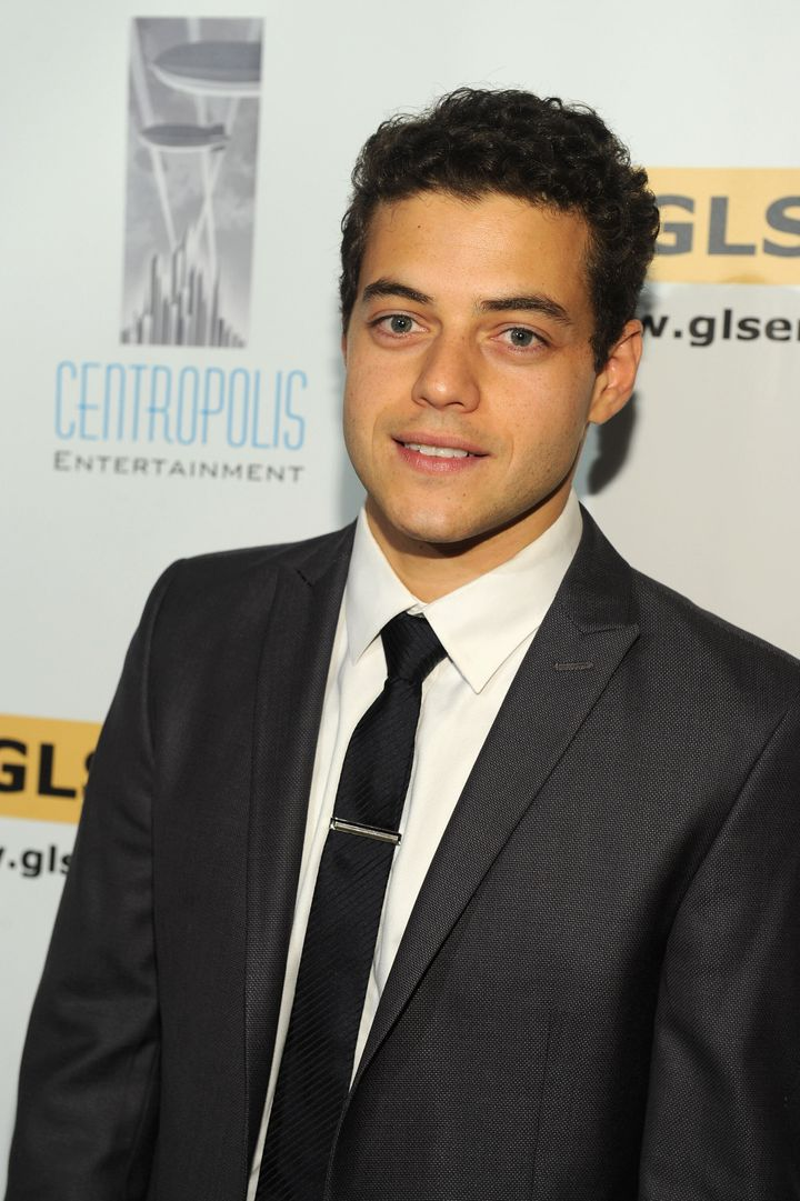 BEVERLY HILLS, CA - OCTOBER 08:  Actor Rami Malek arrives to the 6th Annual GLSEN Respect Awards at the Beverly Hills Hotel o
