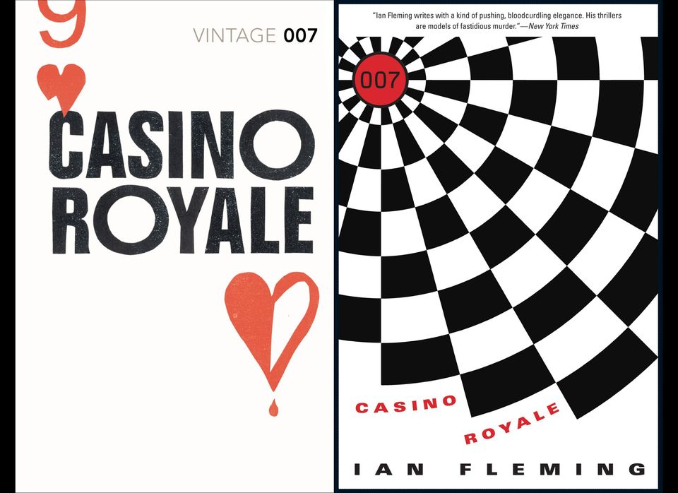 They're both striking, but the Amazon cover looks a little too much like a dartboard, rather than a gambling chip. The drop o