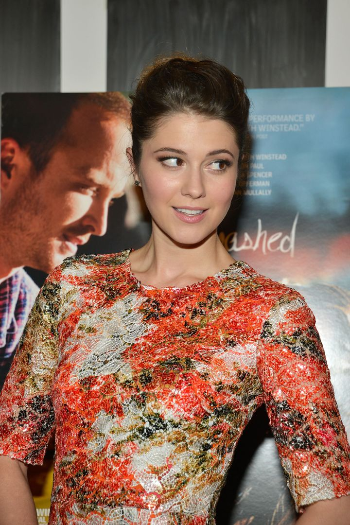 NEW YORK, NY - OCTOBER 04:  Mary Elizabeth Winstead attends the 'Smashed' New York Premiere at the Museum of Modern Art on Oc